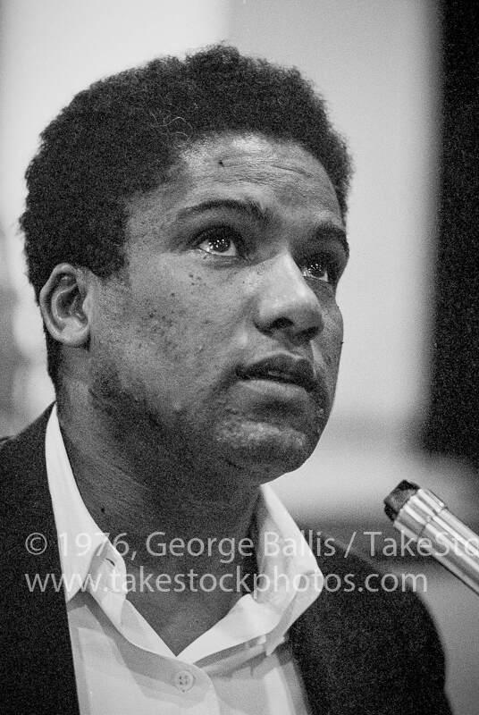 James Forman at the MFDP challenge in Atlantic City, August 1964, George Ballis, Take Stock