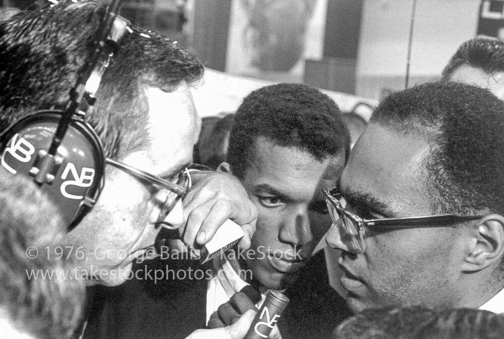 Ivanhoe Donaldson with Bob Moses at the DNC, August 10, 1964, George Ballis, Take Stock